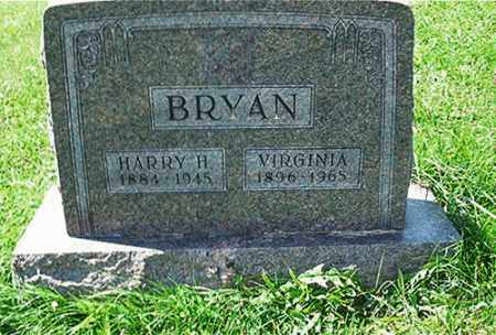 BRYAN, VIRGINIA - Columbiana County, Ohio | VIRGINIA BRYAN - Ohio Gravestone Photos