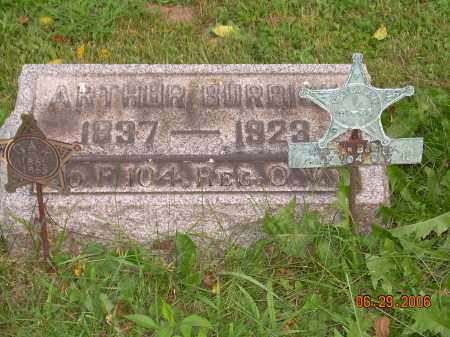 BURBICK, ARTHUR - Columbiana County, Ohio | ARTHUR BURBICK - Ohio Gravestone Photos