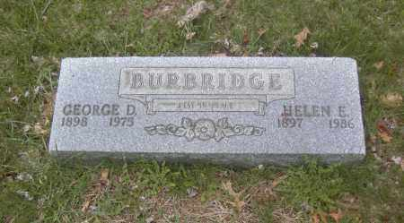 BURBRIDGE, HELEN E. - Columbiana County, Ohio | HELEN E. BURBRIDGE - Ohio Gravestone Photos