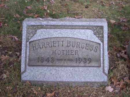 BURGESS, HARRIETT - Columbiana County, Ohio | HARRIETT BURGESS - Ohio Gravestone Photos