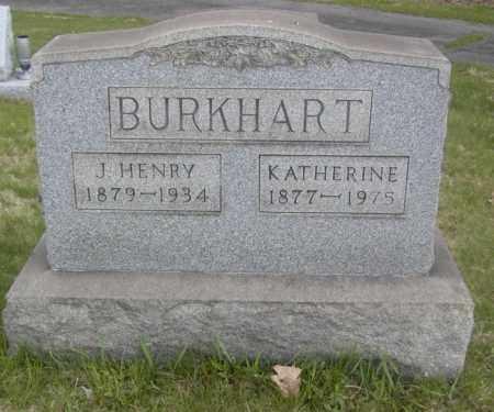 BURKHART, KATHERINE - Columbiana County, Ohio | KATHERINE BURKHART - Ohio Gravestone Photos