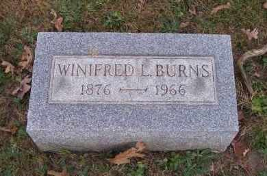 BURNS, WINIFRED L. - Columbiana County, Ohio | WINIFRED L. BURNS - Ohio Gravestone Photos