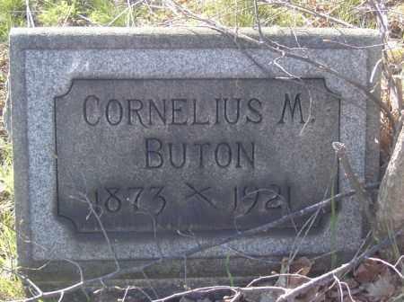 BUTON, CORNELIUS M. - Columbiana County, Ohio | CORNELIUS M. BUTON - Ohio Gravestone Photos
