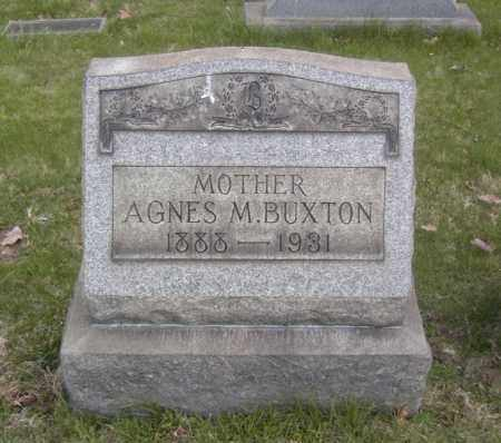 BUXTON, AGNES M. - Columbiana County, Ohio | AGNES M. BUXTON - Ohio Gravestone Photos