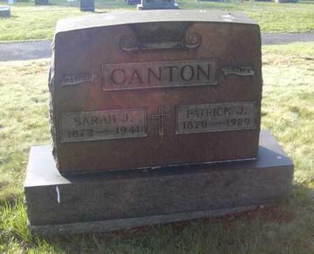 CANTON, PATRICK J. - Columbiana County, Ohio | PATRICK J. CANTON - Ohio Gravestone Photos