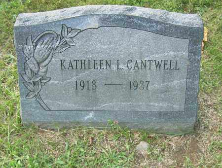 CANTWELL, KATHLEEN L - Columbiana County, Ohio | KATHLEEN L CANTWELL - Ohio Gravestone Photos