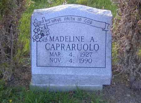 CAPRARUOLO, MADELINE A. - Columbiana County, Ohio | MADELINE A. CAPRARUOLO - Ohio Gravestone Photos