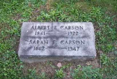 CARSON, ALBERT E. - Columbiana County, Ohio | ALBERT E. CARSON - Ohio Gravestone Photos