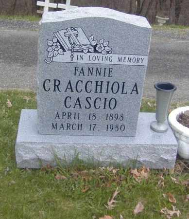 CASCIO, FANNIE CRACCHIOLA - Columbiana County, Ohio | FANNIE CRACCHIOLA CASCIO - Ohio Gravestone Photos