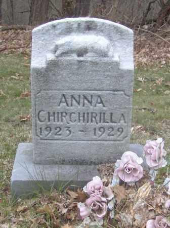 CHIRCHIRILLA, ANNA - Columbiana County, Ohio | ANNA CHIRCHIRILLA - Ohio Gravestone Photos
