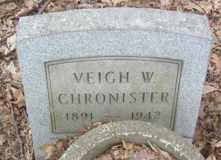 CHRONISTER, VEIGH W. - Columbiana County, Ohio | VEIGH W. CHRONISTER - Ohio Gravestone Photos