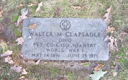 CLAPSADLE, WALTER M. - Columbiana County, Ohio | WALTER M. CLAPSADLE - Ohio Gravestone Photos