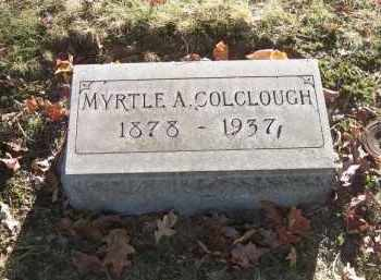 COLCLOUGH, MYRTLE A. - Columbiana County, Ohio | MYRTLE A. COLCLOUGH - Ohio Gravestone Photos
