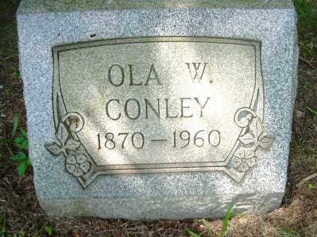 CONLEY, OLA W - Columbiana County, Ohio | OLA W CONLEY - Ohio Gravestone Photos