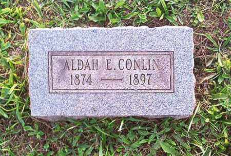 CONLIN, ALDAH E. - Columbiana County, Ohio | ALDAH E. CONLIN - Ohio Gravestone Photos