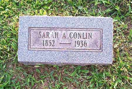 MCGARVEY CONLIN, SARAH A. - Columbiana County, Ohio | SARAH A. MCGARVEY CONLIN - Ohio Gravestone Photos