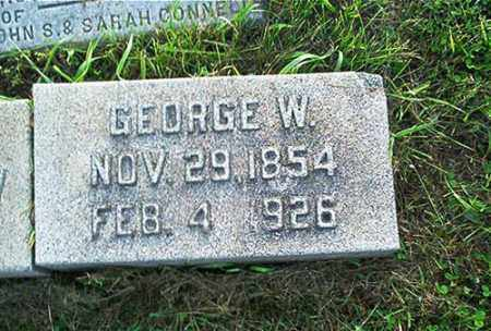 CONNELL, GEORGE W. - Columbiana County, Ohio | GEORGE W. CONNELL - Ohio Gravestone Photos