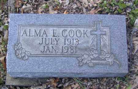 COOK, ALMA E. - Columbiana County, Ohio | ALMA E. COOK - Ohio Gravestone Photos