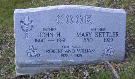 COOK, MARY KETTLER - Columbiana County, Ohio | MARY KETTLER COOK - Ohio Gravestone Photos