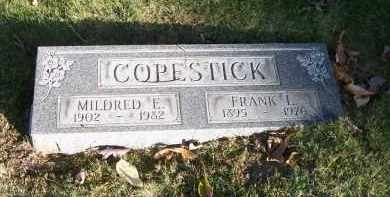 COPESTICK, MILDRED E. - Columbiana County, Ohio | MILDRED E. COPESTICK - Ohio Gravestone Photos