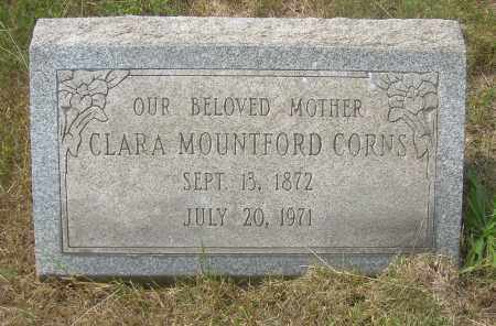 CORNS, CLARA - Columbiana County, Ohio | CLARA CORNS - Ohio Gravestone Photos