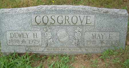 COSGROVE, DEWEY H - Columbiana County, Ohio | DEWEY H COSGROVE - Ohio Gravestone Photos