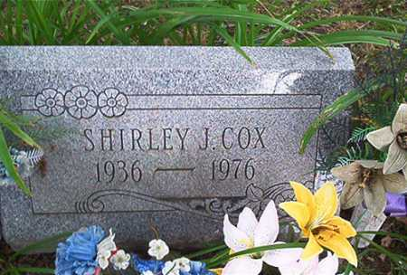 COX, SHIRLEY J. - Columbiana County, Ohio | SHIRLEY J. COX - Ohio Gravestone Photos
