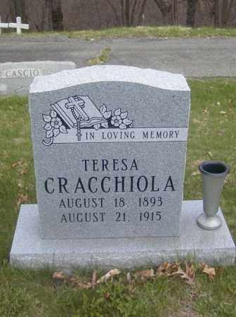 CRACCHIOLA, TERESA - Columbiana County, Ohio | TERESA CRACCHIOLA - Ohio Gravestone Photos
