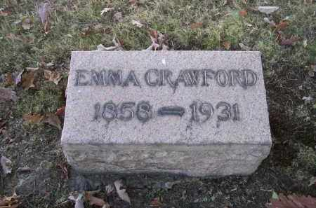 CRAWFORD, EMMA - Columbiana County, Ohio | EMMA CRAWFORD - Ohio Gravestone Photos