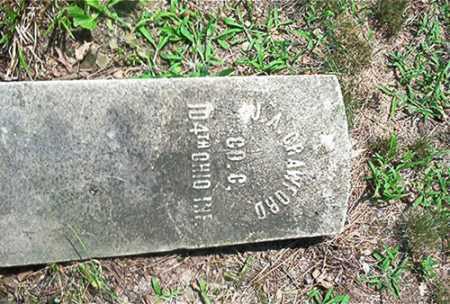 CRAWFORD, J. A. - Columbiana County, Ohio | J. A. CRAWFORD - Ohio Gravestone Photos