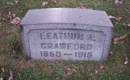CRAWFORD, LEATHUM A. - Columbiana County, Ohio | LEATHUM A. CRAWFORD - Ohio Gravestone Photos