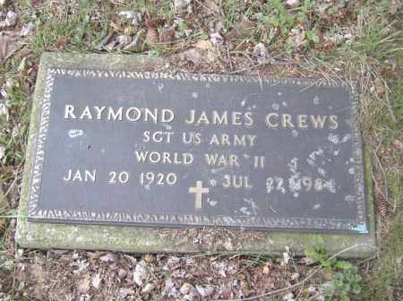 CREWS, RAYMOND JAMES - Columbiana County, Ohio | RAYMOND JAMES CREWS - Ohio Gravestone Photos