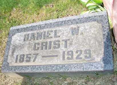 CRIST, DANIEL - Columbiana County, Ohio | DANIEL CRIST - Ohio Gravestone Photos