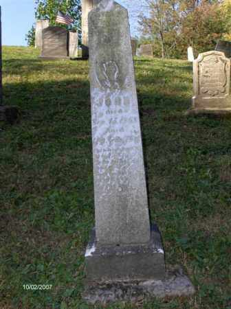 CRIST, JOHN - Columbiana County, Ohio | JOHN CRIST - Ohio Gravestone Photos