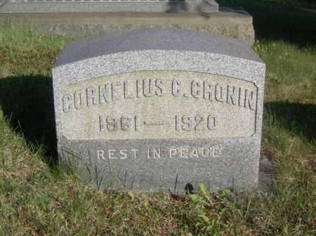CRONIN, CORNELIUS C. - Columbiana County, Ohio | CORNELIUS C. CRONIN - Ohio Gravestone Photos