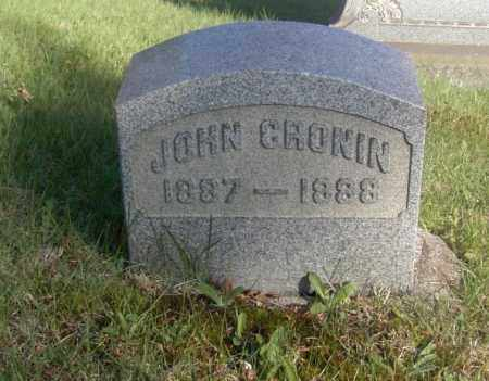 CRONIN, JOHN - Columbiana County, Ohio | JOHN CRONIN - Ohio Gravestone Photos
