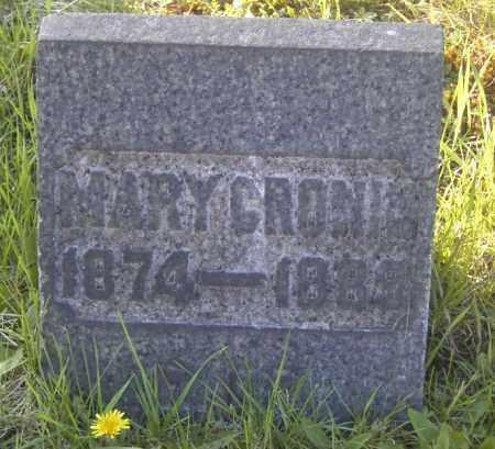 CRONIN, MARY - Columbiana County, Ohio | MARY CRONIN - Ohio Gravestone Photos