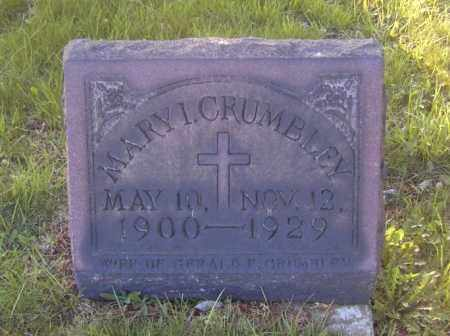 CRUMBLEY, MARY I. - Columbiana County, Ohio | MARY I. CRUMBLEY - Ohio Gravestone Photos