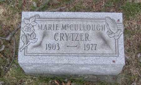 CRYTZER, MARIE MCCULLOUGH - Columbiana County, Ohio | MARIE MCCULLOUGH CRYTZER - Ohio Gravestone Photos