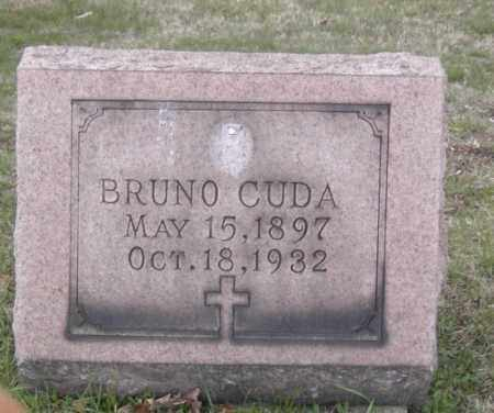 CUDA, BRUNO - Columbiana County, Ohio | BRUNO CUDA - Ohio Gravestone Photos