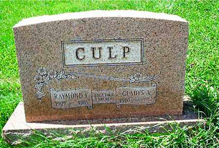 CULP, RAYMOND F. - Columbiana County, Ohio | RAYMOND F. CULP - Ohio Gravestone Photos