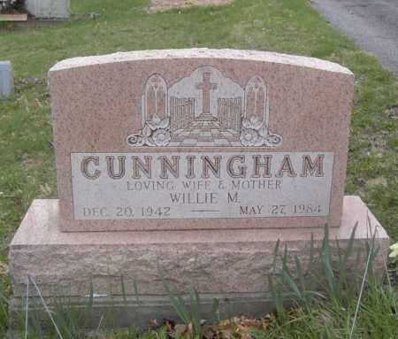 CUNNINGHAM, WILLIE M. - Columbiana County, Ohio | WILLIE M. CUNNINGHAM - Ohio Gravestone Photos