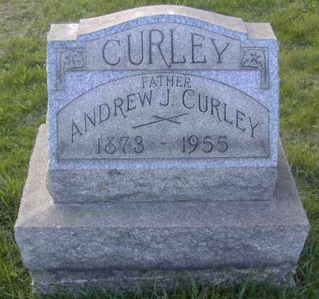 CURLEY, ANDREW J. - Columbiana County, Ohio | ANDREW J. CURLEY - Ohio Gravestone Photos
