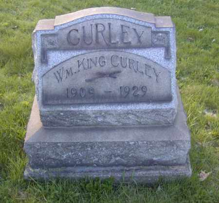 CURLEY, WM KING - Columbiana County, Ohio | WM KING CURLEY - Ohio Gravestone Photos