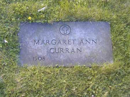 CURRAN, MARGARET ANN - Columbiana County, Ohio | MARGARET ANN CURRAN - Ohio Gravestone Photos