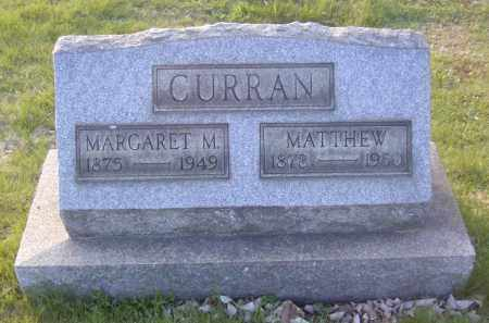 CURRAN, MATTHEW - Columbiana County, Ohio | MATTHEW CURRAN - Ohio Gravestone Photos