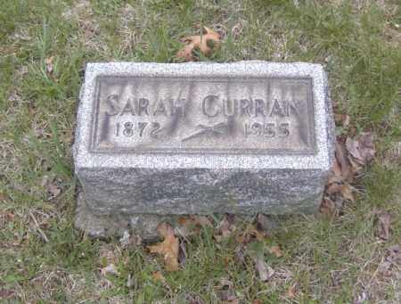 CURRAN, SARAH - Columbiana County, Ohio | SARAH CURRAN - Ohio Gravestone Photos