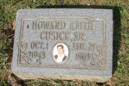 CUSICK, HOWARD KEITH, SR - Columbiana County, Ohio   HOWARD KEITH, SR CUSICK - Ohio Gravestone Photos