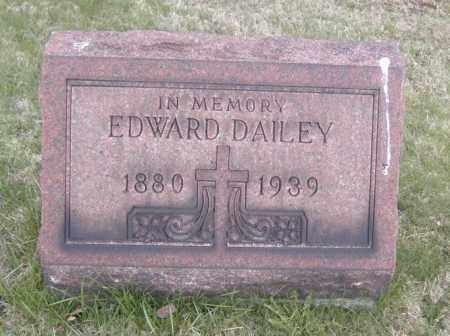 DAILEY, EDWARD - Columbiana County, Ohio | EDWARD DAILEY - Ohio Gravestone Photos