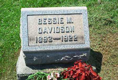 DAVIDSON, BESSIE M. - Columbiana County, Ohio | BESSIE M. DAVIDSON - Ohio Gravestone Photos
